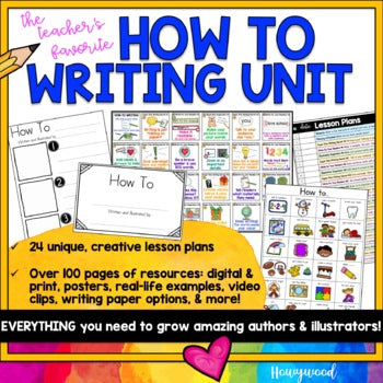How To Informational Unit for Kindergarten Teachers from Howywood Kindergarten