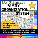 The Ultimate Family Organization System! PERFECT for Distance Learning & WFH!