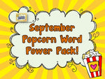 Popcorn Word Power Pack FREE September Sneak Peek!!!