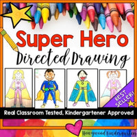 Superhero Directed Drawing & Writing Project