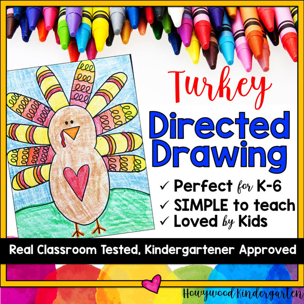 Turkey Directed Drawing