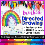 Rainbow Directed Drawing
