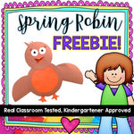 FREE Spring Activity ! Adorable birds to brighten your day!