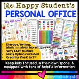 Writing Office , Privacy Folder , Literacy & Math Reference Tool , Sneeze Guard