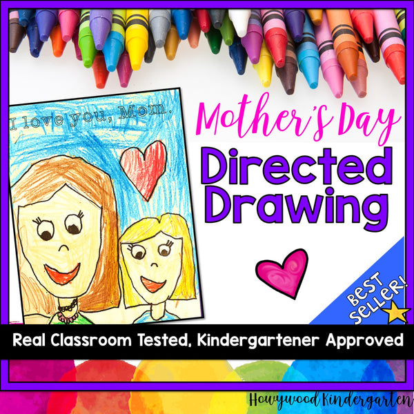 Mother's Day Directed Drawing Project
