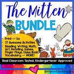 The Mitten : The BUNDLE : 17 Awesome Resources in 1 : DAYS of FUN & Learning!