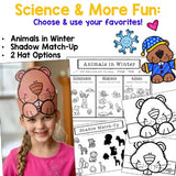 Groundhogs Day Activities : Hat / Headband . Math . Science . Writing . FUN!