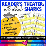 Reader's Theater: All About Sharks . Designed For Emergent Readers