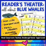 Reader's Theater: All About Blue Whales . Designed for Emergent Readers