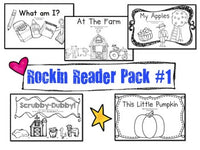 Sight Words Emergent Reader Books Pack #1! 5 Awesome Books!