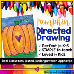 Pumpkin Directed Drawing