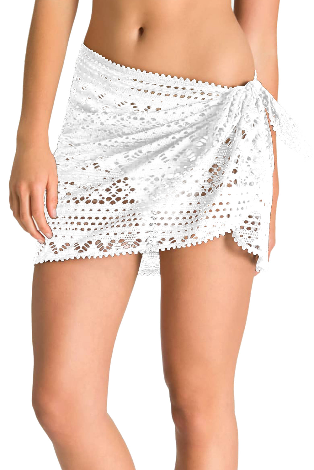 Stylish Crochet Sarong Cover up