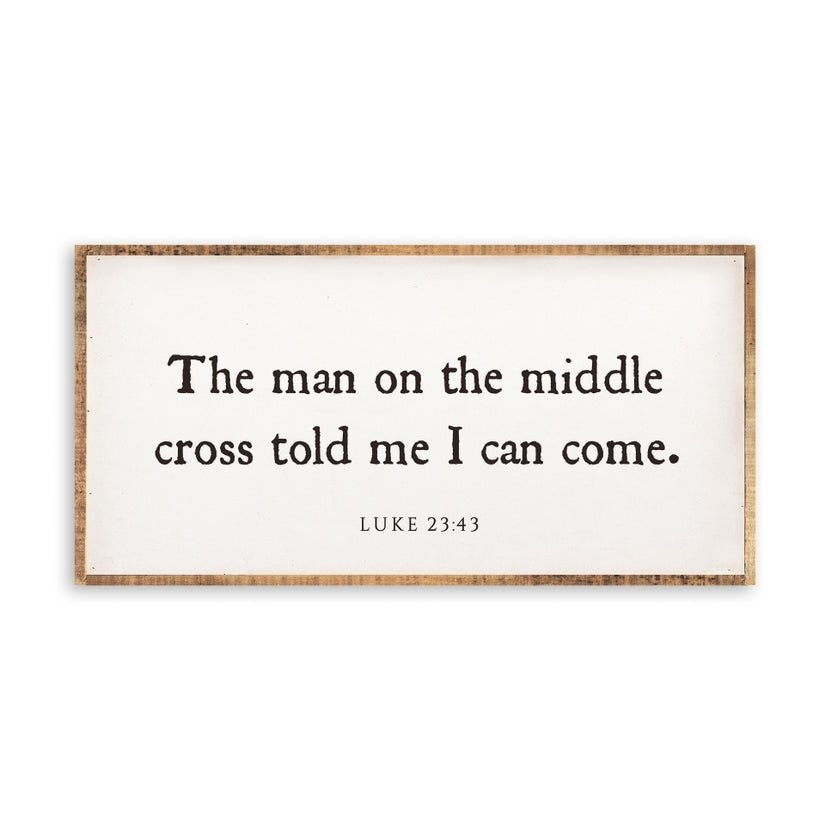 The Man on the Middle Cross Wall Art 12