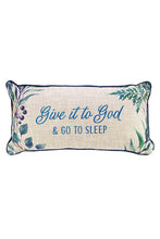 Load image into Gallery viewer, Give it to God Rectangular Throw Pillow