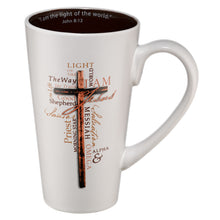 Load image into Gallery viewer, Light of the World Ceramic Coffee Mug - John 8:12