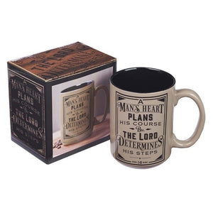 A Man's Heart Ceramic Coffee Mug