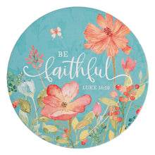 Load image into Gallery viewer, Be Faithful Ceramic Trivet - Luke 16:10