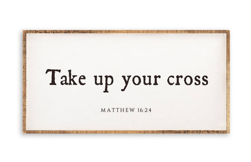 Take Up Your Cross Wall Art 12