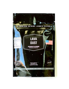 Lava Dust Seasoning - Travel Pouch