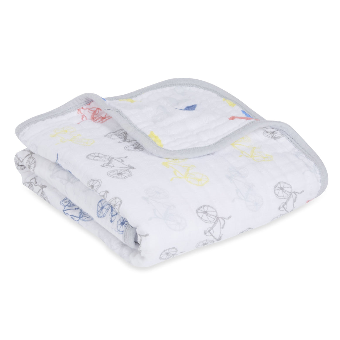 aden + anais leader of the pack 4 layer classic stroller blanket
