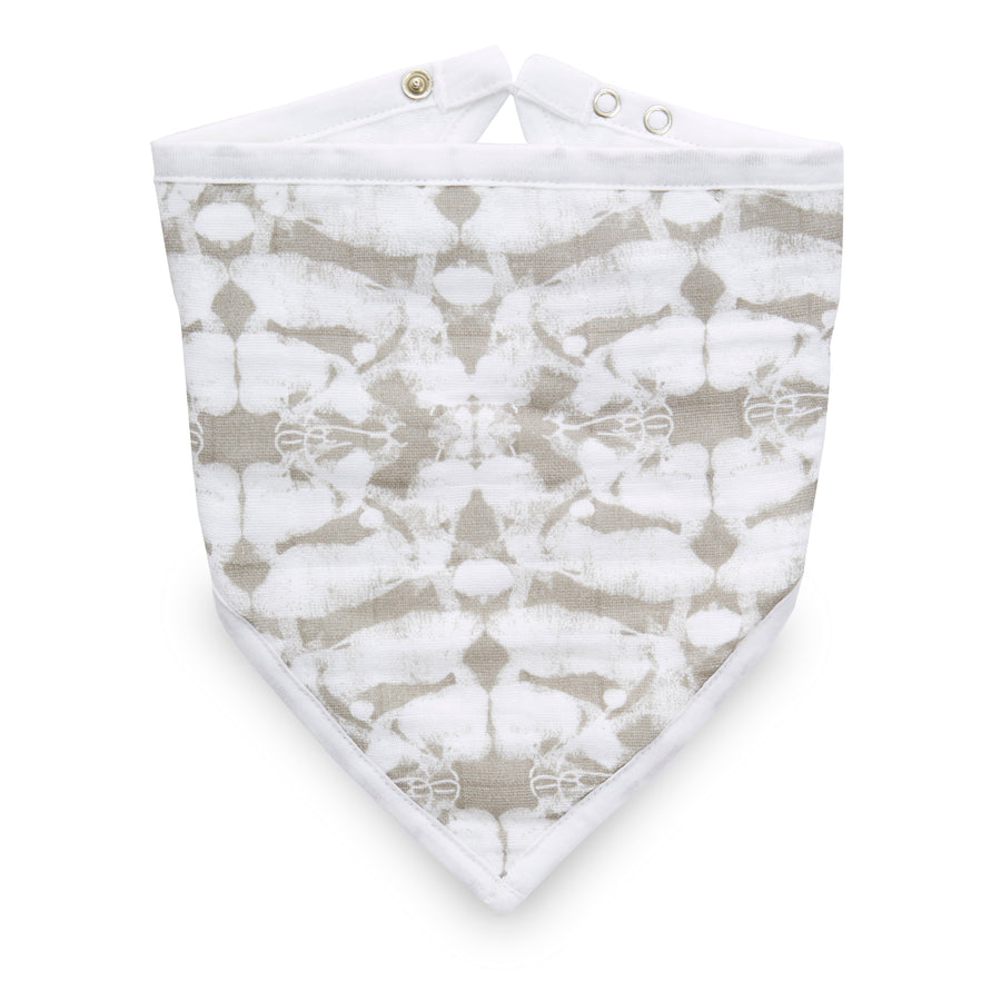 aden + anais hear me roar classic muslin adjustable bandana bib