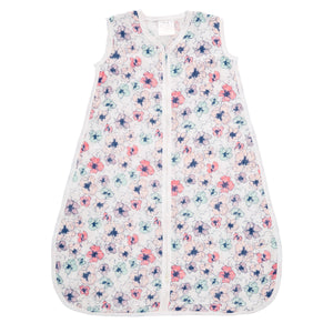 aden + anais trail blooms classic muslin 1 tog sleeping bag