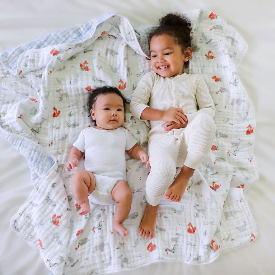 aden + anais  Naturally Eco Forest classic dream blanket