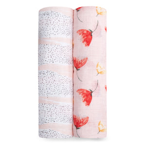 aden + anais picked for you 2-pack muslin swaddles