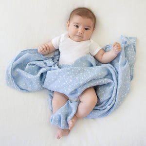 aden + anais Rising Star - Bright Star classic single swaddle