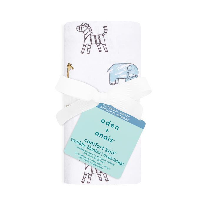 comfort knit™ newborn swaddle blanket