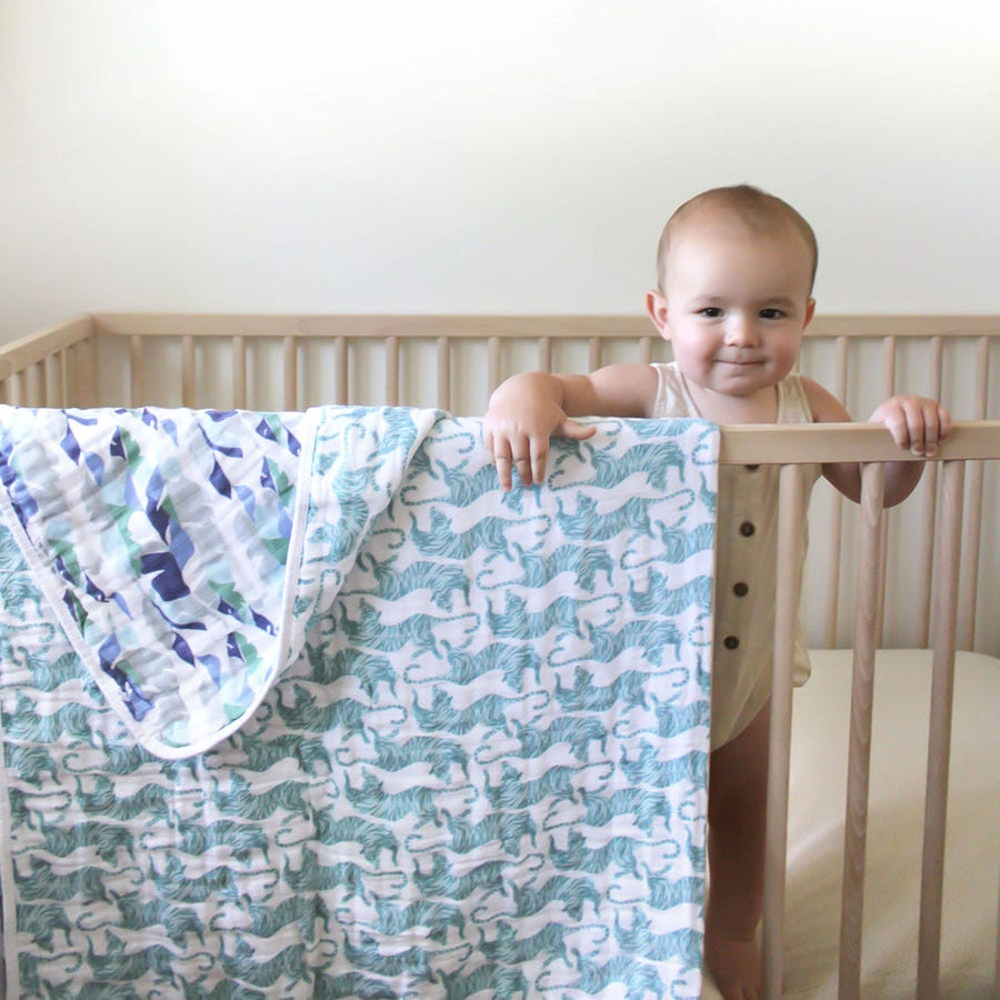 aden + anais Dancing Tigers classic dream blanket