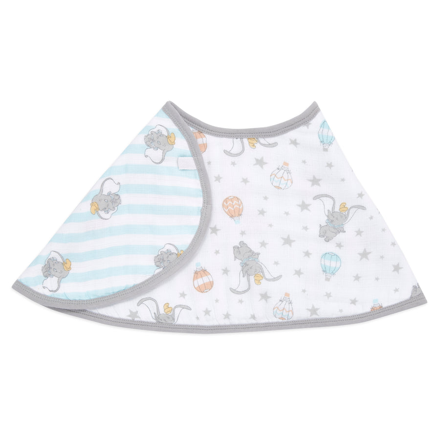 aden + anais essentials DISNEY Dumbo single burpy bib