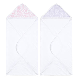 aden + anais essentials damsel 2-pack hooded towel set