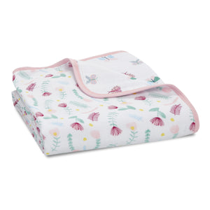 aden + anais essentials floral fauna classic dream blanket
