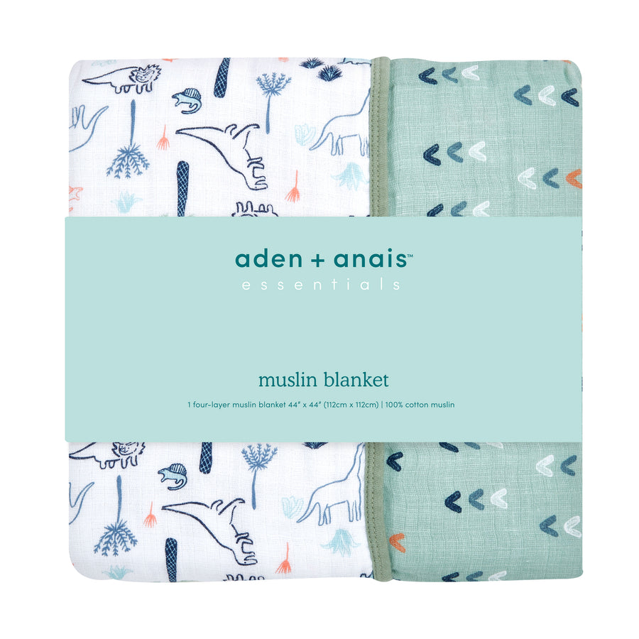 aden + anais essentials dinotime classic dream blanket