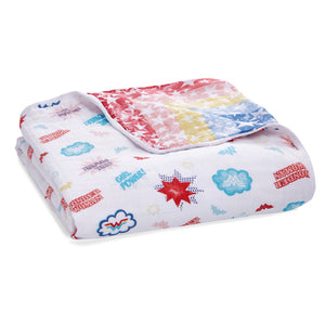essentials cotton muslin dream blanket Wonder Woman™ - Power Pop
