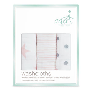 aden by aden + anais: doll: soft muslin washcloths