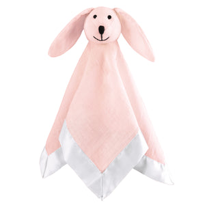 aden by aden + anais: solid pink mist lovey musy mate security blanket