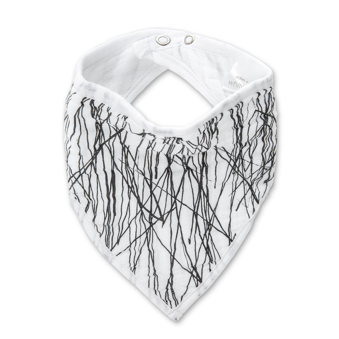 white label sage advice - twigs classic muslin adjustable bandana bib