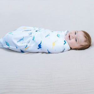 Essentials wrap swaddle 3pack - Dino Rama 4-6 months