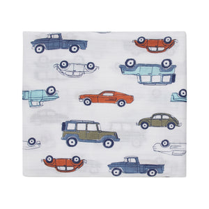 aden by aden + anais: hit the road classic muslin single swaddle