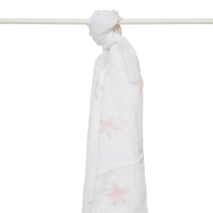 aden by aden + anais: doll - stars: muslin swaddle single