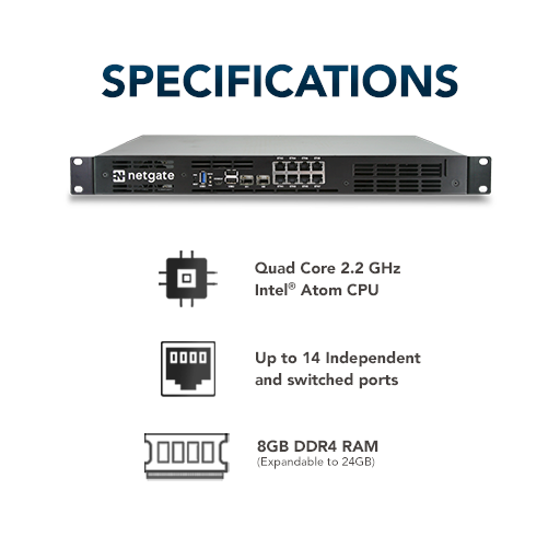 Netgate-7100-Specifications