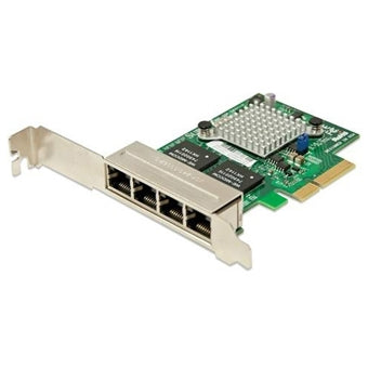 XG-7100 Quad-Port 1 GbE Adapter Card with PCIe Installation Kit