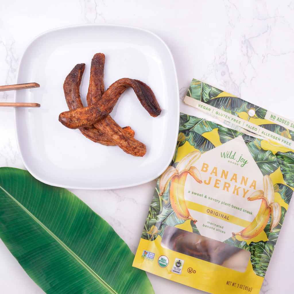Original Banana Jerky - Snack Healthy