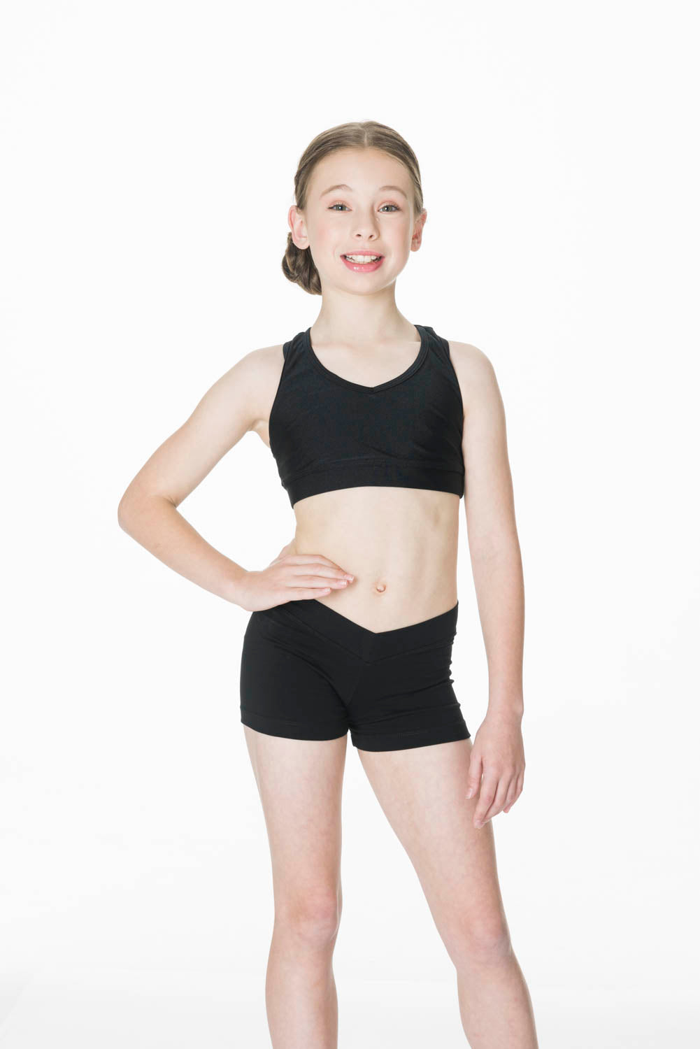 Studio 7 Cotton V Front Shorts