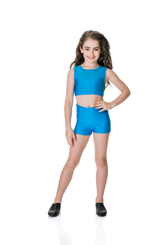 Studio 7 Mesh Crop Top (Child)