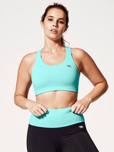 Running Bare Power Up Crop Top