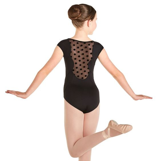 Bloch Polka Dot Cap Sleeve Leotard