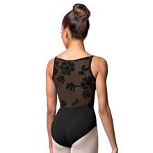 Load image into Gallery viewer, Bloch Rose Mesh Back Leotard